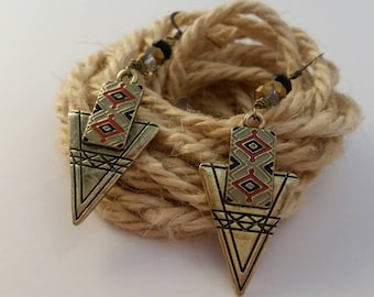 Arrowhead - First Collection by SilverJaneSundries Native American inspired earrings