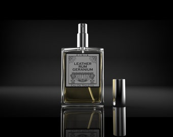 Leather Rum Geranium, EDT, fragrance