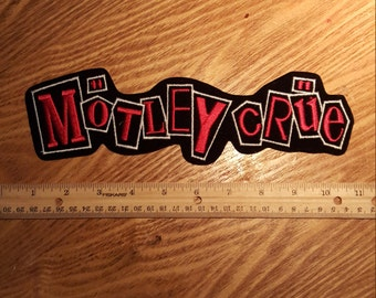 Motley Cruel patch