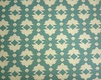 FreeSpirit Tina Givens Riddles & Rhymes Foulard Cotton Fabric in Green