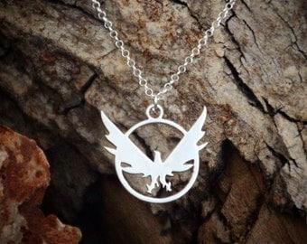 Division sterling necklace, Phoenix necklace, The division, Division necklace, Sterling phoenix, Division game, The division game