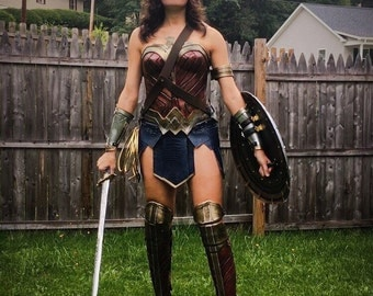 Wonder Woman Dawn of Justice Inspired Suit