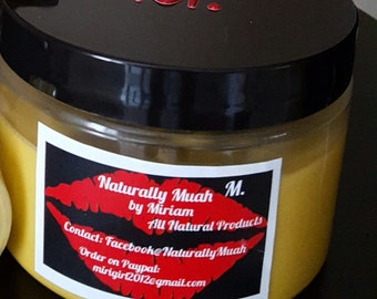 Raw Shea Butter Oil Infused Body Moisturizer