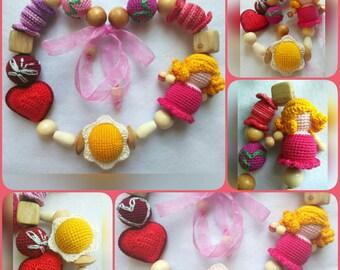Nursing necklace Dolly