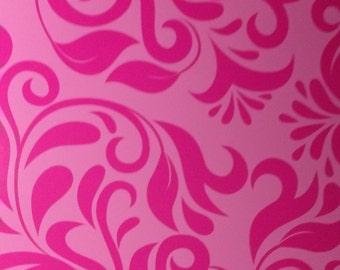 Pink on Pink Pattern Vinyl