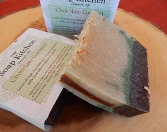 Chocolate Coconut Soap