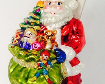 Vintage Christopher Radko Ornament Deluxe Delivery