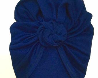 Navi blue turban