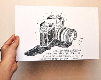 Lithograph Camera