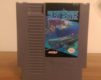 Silent Service [Submarine Simulator] - (NES) Game