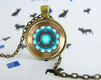Iron Man - Reactor - Necklace - Special Jewel - Special Gift