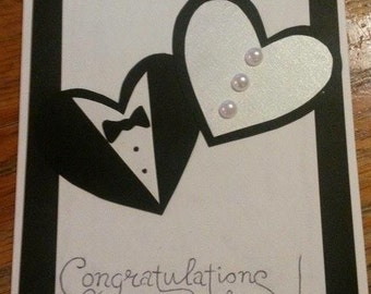 Wedding Card 'Congratulations'