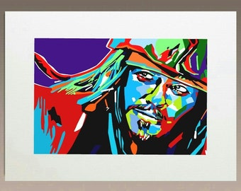 Art Print - Jack Sparrow Tribe