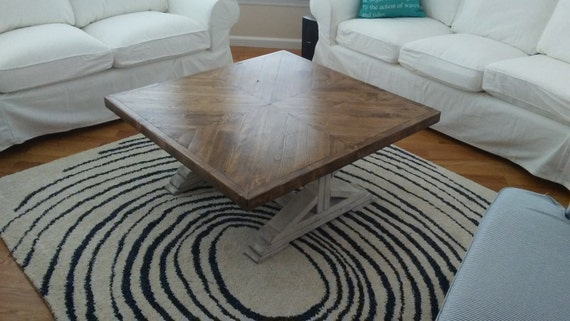 coffee table rustic coffee table distress white coffee. Black Bedroom Furniture Sets. Home Design Ideas