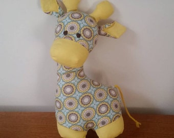 Handmade Toy Giraffe