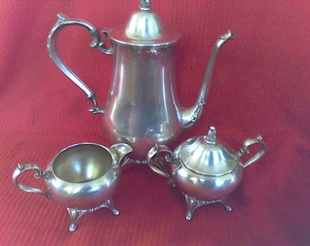 Silver Plated tea sevice,platter, Entertaining Dinning,Tea Service tray, tea set, coffee set,