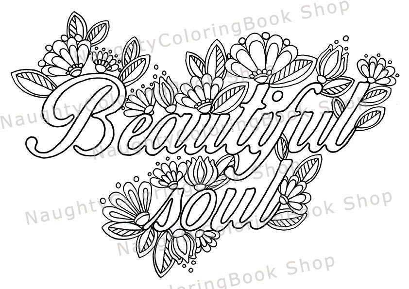 10 Printable Coloring Pages Adult Coloring Book Positive