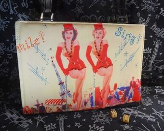 Vintage Showgirl Purse