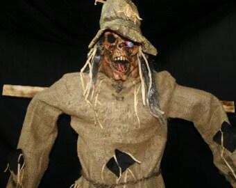 Life-Size Scarecrow Halloween Prop