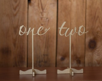 Table numbers-Wedding Numbers-Gold Table Numbers-Gold Wedding Numbers