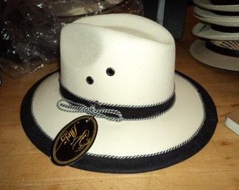 Handmade Paper Straw Hat - Medium