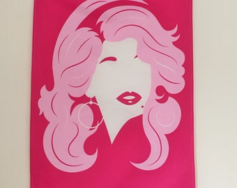 Dolly Parton Tea Towel - Dolly