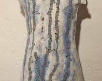 Nuno Felted dress  SOLD