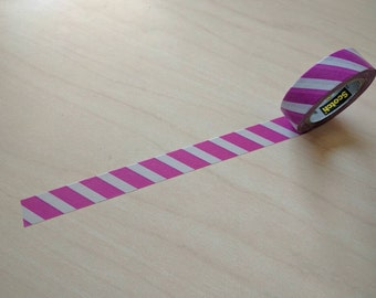 Full roll Scotch Purple Lines washi tape
