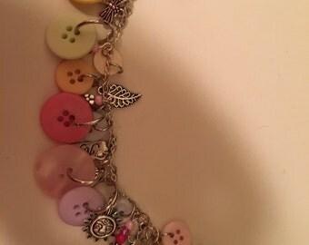 Spring Has Sprung charm bracelet