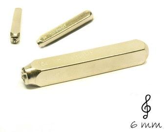 Design stamp clef punch hallmark
