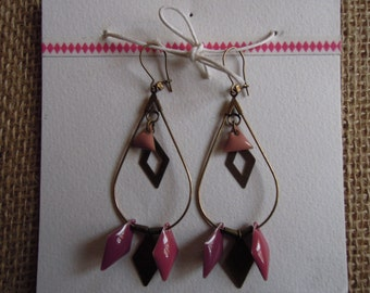 weighted earrings