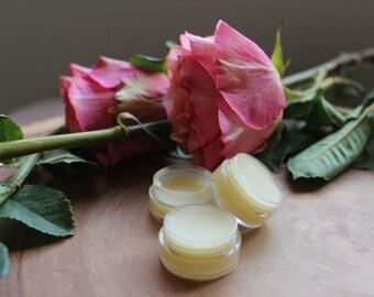 Organic Shea Mint Lip Balm / Lip Gloss / Natural Lip Balm