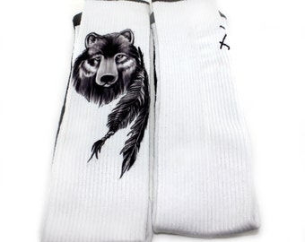 Zayn Malik Tattoo Inspired Knee High Socks - One Direction Socks