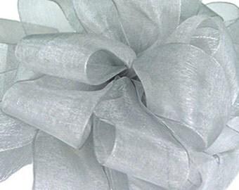 Silver Sheer Ribbon     (10-##-S-136)