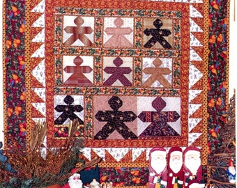 Fruit and Cookies quilt pattern PDF DOWNLOAD