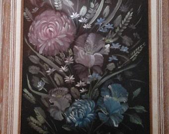 Eva Hockman Original oil painting 1990s