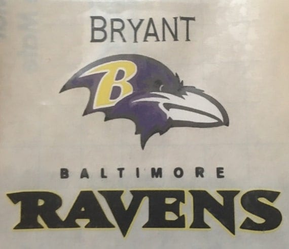 King Motors Baltimore: NFL Baltimore Ravens YETI Custom Decal Baltimore Ravens