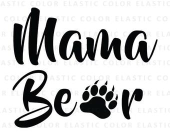 Mama bear svg | Etsy - 19.5KB
