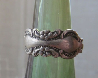 Vintage Towle Sterling Silver Floral Ring