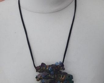 Mixed Media HandMade Beaded Necklace