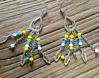 "Earrings ""Lemon"""