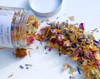 Floral Steam | Facial Steam | Herbal Steam | Organic | Vegan | Botanical Steam | Petals and Blooms