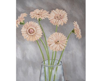 Gerber Daisies in Pale