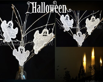 The ghost lace- three sizes-free standing lace