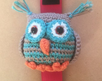 Hooty Owl Wrist Pin Cushion