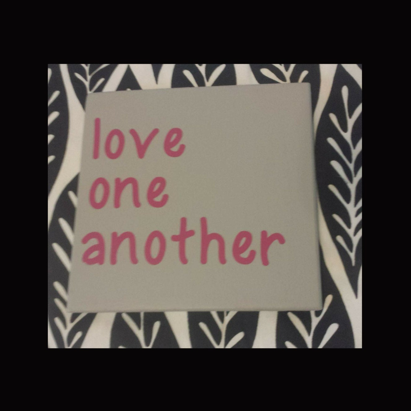 Love One Another: Love One Another Wood Sign By PiccadillyWoods On Etsy