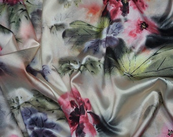 Gorgeous Stretch Satin,Imported.