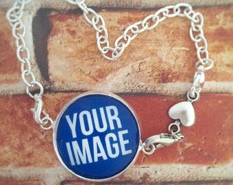 Photo Charm, Photo Charm Bracelet, Picture Charms, Photo Bracelet, Picture Bracelet