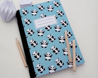 Small pandas 14x20cm illustrated book