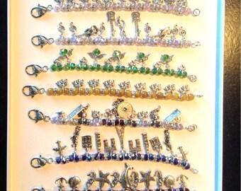 Bracelets, elegant, lucky charms